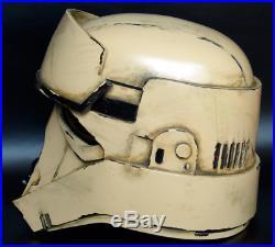 1 STAR WARS Stormtrooper Shoretrooper Helmet Prop Replica Plus Stand Rogue 1