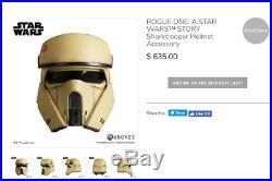1 STAR WARS Stormtrooper Shoretrooper Helmet Prop only Replica Plus Stand R1