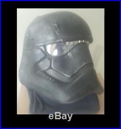 1 Star Wars The Force Awakens shadow Black Stormtrooper Prop Helmet Adult