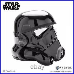 11 Anovos Star Wars Classic Stormtrooper Shadowtrooper ABS Vacuum Helmet 006 B