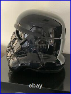 11 Anovos Star Wars Classic Stormtrooper Shadowtrooper ABS Vacuum Helmet NEW