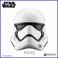11 Anovos Star Wars TFA First Order STORMTROOPER Standard ABS Plastic Helmet