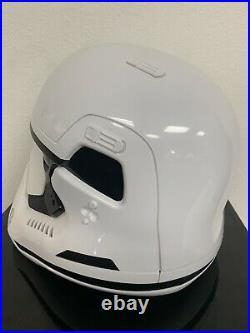 11 Anovos Star Wars THE FORCE AWAKENS Plastic ABS TFA Stormtrooper Helmet