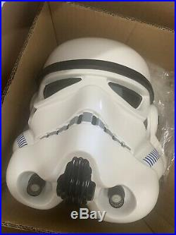 11 STAR WARS Classic TK Stormtrooper Helmet Full Size Prop Replica Anovos Ver 2