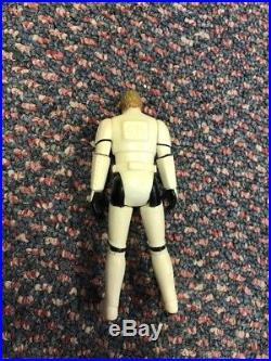 1984 Luke Skywalker Storm Trooper Figure With Original Helmet