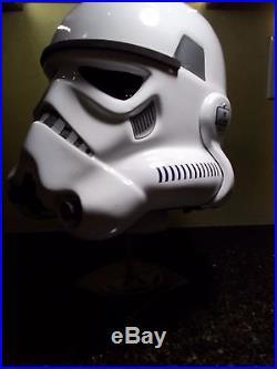 1STAR WARS Stormtrooper Helmet Prop Replica Nice1/1 Scale Helmet Plus Stand