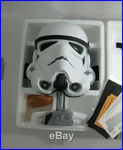 2007 Star Wars Master Replicas Stormtrooper ANH Helmet 11 SW-153 LE UNUSED