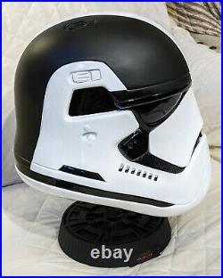 2017 Star Wars The Last Jedi 11 First Order Executioner Helmet #11/100
