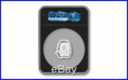 2020 Niue Silver $5 Star Wars Stormtrooper Helmet UHR MS 70 FR NGC Coin