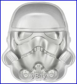 2020 Niue Star Wars Stormtrooper Helmet UHR 2 oz Silver Frosted $5 SKU61124
