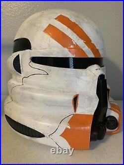 3D Printed Full Size Star Wars 212th Airborne Clone Trooper Helmet