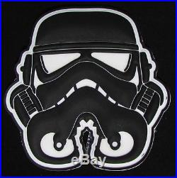 3d Pvc Swat Glow Stormtrooper Helmet Star Wars 1st Order Velcro Brand Patch