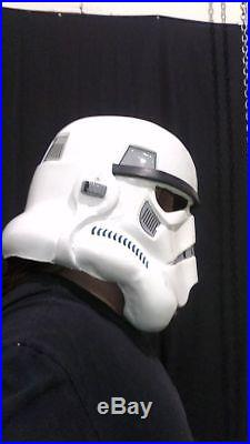 ANH Storm trooper helmet 1st gen 501st approval hovi mic tips STAR WARS NOT VADE