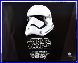 Anovos Disney Star Wars The Force Awakens First Order Stormtrooper Helmet Figure