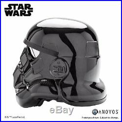 ANOVOS STAR WARS Imperial Shadow Stormtrooper Helmet NEW & READY TO WEAR