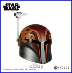 ANOVOS STAR WARS REBELS SABINE WREN 11 Scale Wearable Helmet - PREORDER