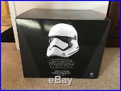 ANOVOS Star Wars Episode VII First Order Stormtrooper Helmet Replica NEW