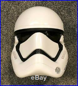 ANOVOS Star Wars First Order Stormtrooper Helmet Standard Line (Used)