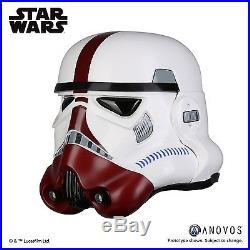 ANOVOS Star Wars Incinerator Stormtrooper Helmet 11 Prop Replica NEW COSPLAY