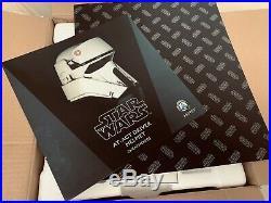 ANOVOS Star Wars Rogue One AT-ACT Trooper Stormtrooper 11 Prop Replica Helmet