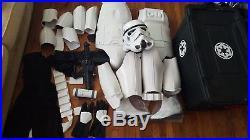 ANOVOS Star Wars Stormtrooper Full Wearable Armor and HELMET w Sterilite Case