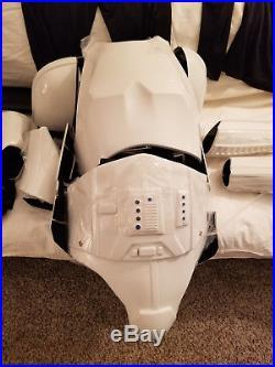 ANOVOS Star Wars Stormtrooper full wearable armor and HELMET