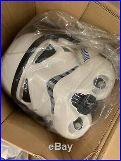 ANOVOS Star Wars TK IMPERIAL STORMTROOPER Premium Assembled Armor Helmet NEW
