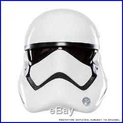-= ANOVOS Star Wars The Force Awakens First Order Stormtrooper Helmet =