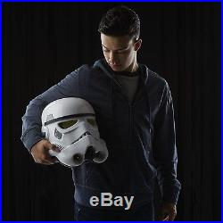 Adult Stormtrooper Helmet Star Wars Imperial Electronic Voice Changer Mask Rogue