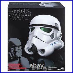 Amazing Black Series Star Wars Stormtrooper Voice Changer Helmet Prop Replica