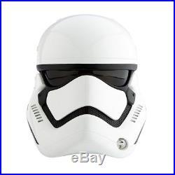 Anovos 11 First Order Stormtrooper DELUXE Fiberglass Helmet Replica AV01161000
