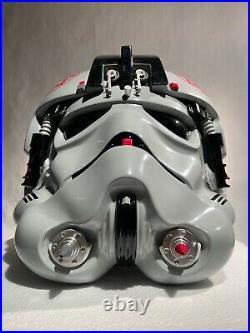 Anovos AT-AT DRIVER Helmet Star Wars 11 Prop -Mandalorian/EFX/Master Replicas