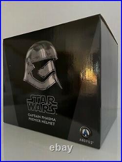 Anovos CAPTAIN PHASMA Helmet 11 Star Wars Prop EFX/Mandalorian/MR/Darth Vader