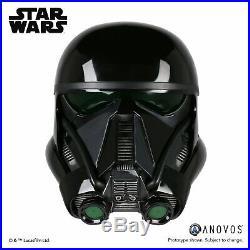 Anovos DEATH TROOPER Helmet 11 Star Wars Prop Mandalorian EFX Master Replicas