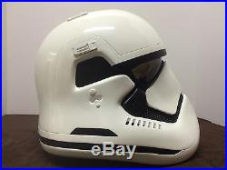 Anovos Disney Star Wars The Force Awakens FIBERGLASS Stormtrooper Helmet