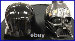 Anovos Fiberglass Darth Vader Helmet CIB! Beautiful Wearable Helmet! Read Notes