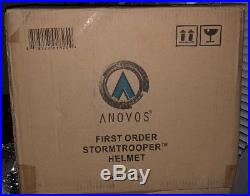 Anovos First Order Stormtrooper Helmet NIB Standard Edition In Mailer Box SWTFA