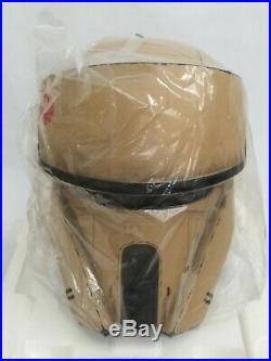 Anovos SHORETROOPER Helmet NEW Life Size Star Wars Prop Mandalorian EFX Sideshow