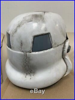 Anovos STAR WARS Classic TK Sandtrooper Stormtrooper Helmet Full Size Replica