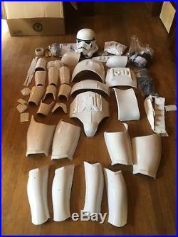 Anovos STAR WARS Imperial Stormtrooper FULL COSTUME PLUS HELMET YOU ASSEMBLE