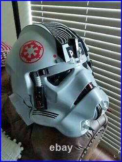 Anovos Star Wars AT-AT Driver Stormtrooper Helmet Prop Replica Rare