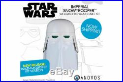Anovos Star Wars Classic Imperial Snowtrooper Stormtrooper Helmet KIT NEW 003
