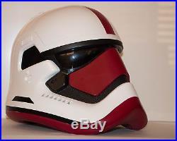 Anovos Star Wars Crimson Guard First Order Stormtrooper Custom Helmet