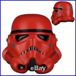 Anovos Star Wars Crimson Stormtrooper Helmet Prop Replica