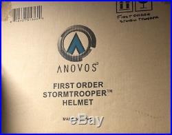 Anovos Star Wars First Order Storm Trooper Helmet The Force Awakens 2015