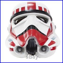 Anovos Star Wars Imperial Stormtrooper TK Helmet Shock (Red) Trooper Variant