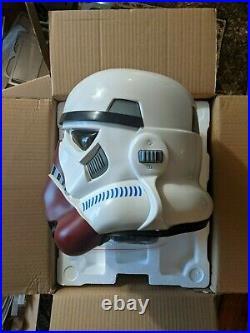 Anovos Star Wars Incinerator Stormtrooper Helmet