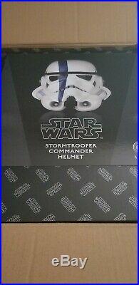 Anovos Star Wars Stormtrooper Commander Helmet