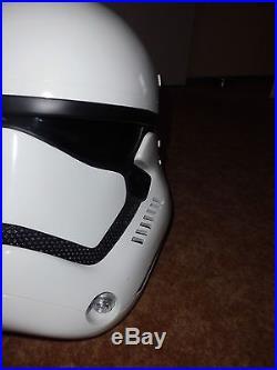 Anovos Star Wars Stormtrooper TFA Fiberglass Helmet like eFX or Master Replicas
