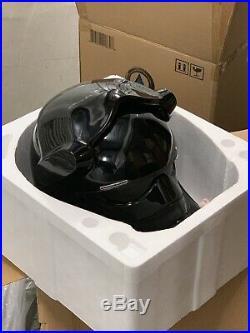 Anovos Star Wars TFA 11 Tie Fighter Pilot Fiberglass Prop Helmet Stormtrooper